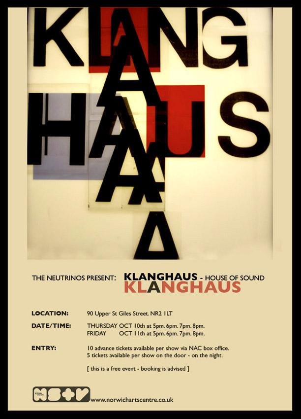 klang haus poster art